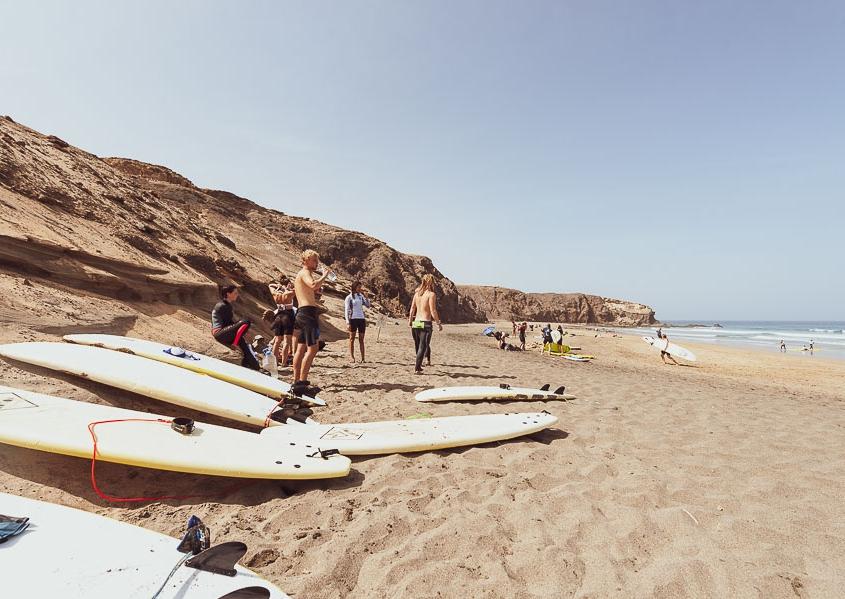 Surfcamp Fuerteventura La Pared